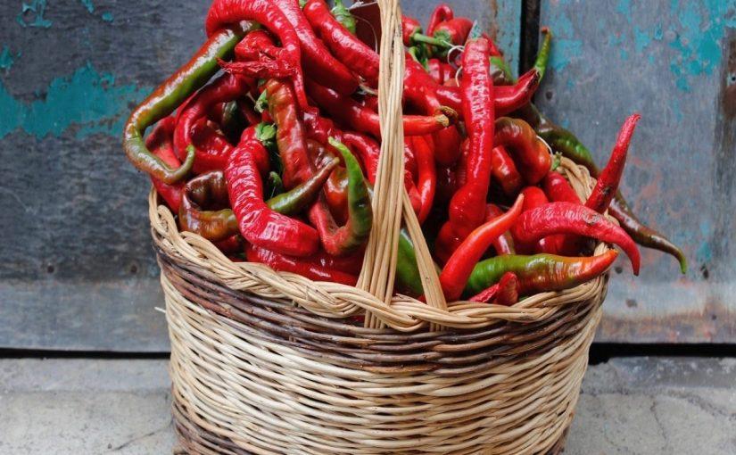 """The crispy peppers of Tortora, so called """"Zafarana"""""""